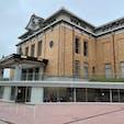 京都市京セラ美術館 建物の下はカフェになっています。