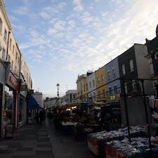 ロンドン ポートベローのマーケット