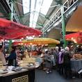 ロンドン サザークの市場(バラマーケット)
