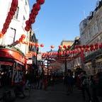 ロンドン チャイナタウンの旧正月