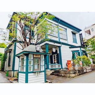 異人館がある、神戸の北野エリアはスタバまでおしゃれ。