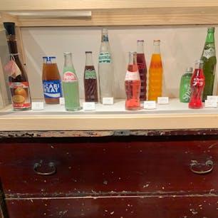 CuteGlass Shop and Gallery  大阪 北浜  透明ガラス瓶の専門店  おいしい記憶 昔なつかしのジュース瓶・ビール瓶