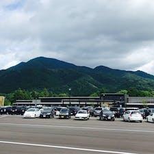 道の駅 越前おおの荒島の郷  昨年北陸三県の道の駅を制覇したと思ってたら、いつのまにか福井に新しい道の駅ができてた。 ちなみに道の駅業界では福井は近畿に入るらしい。