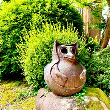 五個荘近江商人屋敷の陶狸