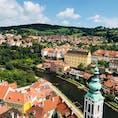 チェスキークルムロフ 2018/6/27-28 チェコの小さな村。ゆっくりお散歩👣