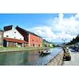 小樽運河です。