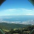 六甲山頂の展望台から撮影しました。