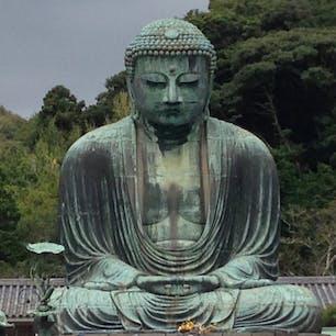 鎌倉大仏 胎内拝観ができます。 改めて見るとデカイ‼︎