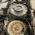 プラハ 天文時計 この街は本当にきれいですね。また行きたいです。