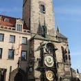プラハ 旧市街広場の天文時計