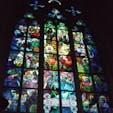 プラハ大聖堂 ムハ(ミュシャ)によるステンドグラス 美しい!