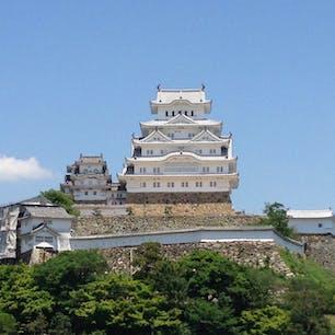 姫路城 白くて素敵です。