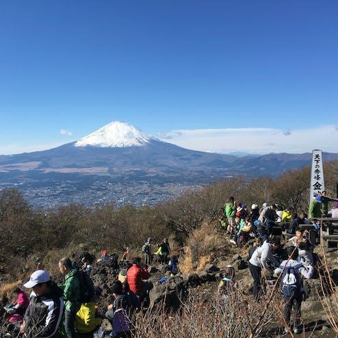金時山ハイキングコース