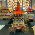 祇園祭り 長刀鉾 7月15日 宵宵山 コレは長刀鉾の年代物の模型ですね♪良く出来て居ます。京都大丸に展示して居ます。  #サント船長の写真 #祇園祭り #京都