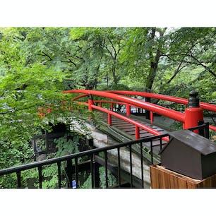 2021/07/09  伊香保温泉の河鹿橋  #群馬県