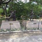佐々木小次郎、宮本武蔵モニュメント