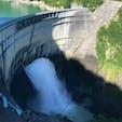 黒部ダム⭐️観光放水 一度行きたい・見たいと思っていた場所の1つ。景色もダムも放流も圧巻しました。 #黒部ダム#放水