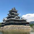 松本城🏯長野県松本市 国宝なだけに立派な城でした。見事です。 今日は連休初日ということもあり、天守閣の中に入るまで約1時間待ち。 ということもあり、かなりゆっくりと見学👁しました。 #松本城#長野県松本市