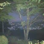 標高1,200mからの夜景