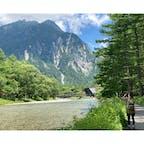 水の透明感はさすが✨ 森林浴もできるし、歩きやすいから 歳を重ねた後にまたきたい😊 やっぱり長野が大好き❤  #上高地