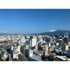 沼津リバーサイドホテル 奥に富士山が見える✨ #202107 #s静岡