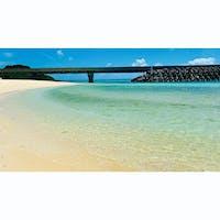 伊良部島。伊良部大橋渡ってすぐの長山の浜 #長山の浜 #伊良部島 #伊良部大橋