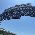 📍LosAngeles / California  Santa Monica ♡♡🏖 コロナ収まったら海外行きたいね