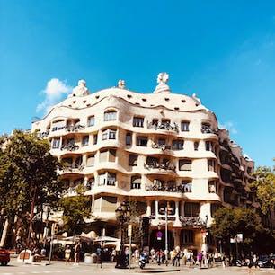 📍カサ・ミラ  #スペイン#バルセロナ#カサミラ#ガウディ#夏休み#一人旅#