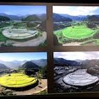 あらぎ島 和歌山 有田川町のシンボルとも言える景観、あらぎ島(あらぎじま)。 日本の棚田百選に選ばれ、2013年には周囲の景観とともに「蘭島及び三田・清水の農山村景観」として国の重要文化的景観に選定されました。 四季折々に美しく変わる風景がみどころで、写真愛好家にも有名なスポットです。  #サント船長の写真 #和歌山県