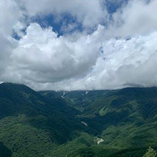 白馬岩岳⛰☁️