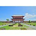 奈良は平城京の朱雀門です