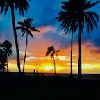 ハワイのSunset