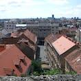 ザグレブの旧市街 何年も前の写真なので撮影場所がわかりません