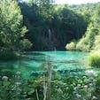 プリトヴィツェ国立公園 一日中歩きました。きれいですね。