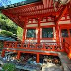 和歌山、加太の淡島神社。 日本人形だらけ。