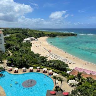 ホテル日航アリビラ 部屋からの眺め
