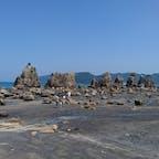 和歌山県:橋杭岩