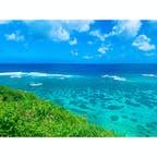 宮古島、インギャーマリンガーデンからの眺め  #インギャーマリンガーデン #宮古島