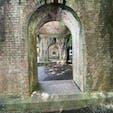 水路閣 南禅寺の撮影スポットです。今で言うインスタ映えの場所ですね♪ 今はコロナ禍で訪れる方は無くご覧の通りですね♪    #サント船長の写真