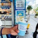 宮古島の雪塩 ソフトクリーム