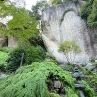 笠置寺・弥勒磨崖仏(みろくまがいぶつ)  #サント船長の写真 #石像