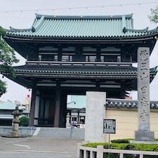 日本で唯一いずれの宗派にも属さない日本の全仏教徒のための寺院らしい 参道のドーナツ屋さん美味しかった  #覚王山日泰寺 #御朱印巡り #愛知