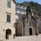 モンテネグロ コトル 聖ルカ教会(正教会) ドブロヴニクから近かったので日帰りで行ってみたらとてもいいところでした。 次は数泊したいな。