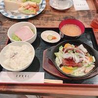 ダンケ箕面 三田牛ランチ。柔らかくて美味しい。  店内も落ち着いていて素敵です。
