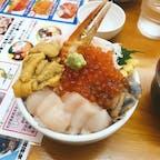 美味しくって楽しくって最高な北海道! 早くまた旅行行きたいな〜🐶💕 #滝波食堂 #小樽 #振り返り