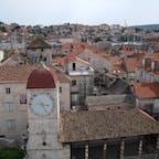 クロアチア トロギル ダルマチア海岸の都市はどれも魅力的