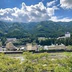 下呂温泉といえば飛騨川沿い