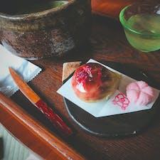2019.7.13 島根県松江市 喫茶きはる  ここの和菓子すごく美味しい。