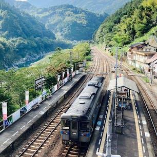 2020年9月23日 大歩危駅にて 四国満喫切符で四国を巡った時の一枚。 この時は時間の関係であまり散策出来なかったので今度行くときはゆっくり散策したいです。