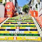 Brazil🇧🇷カラフルな階段🌈
